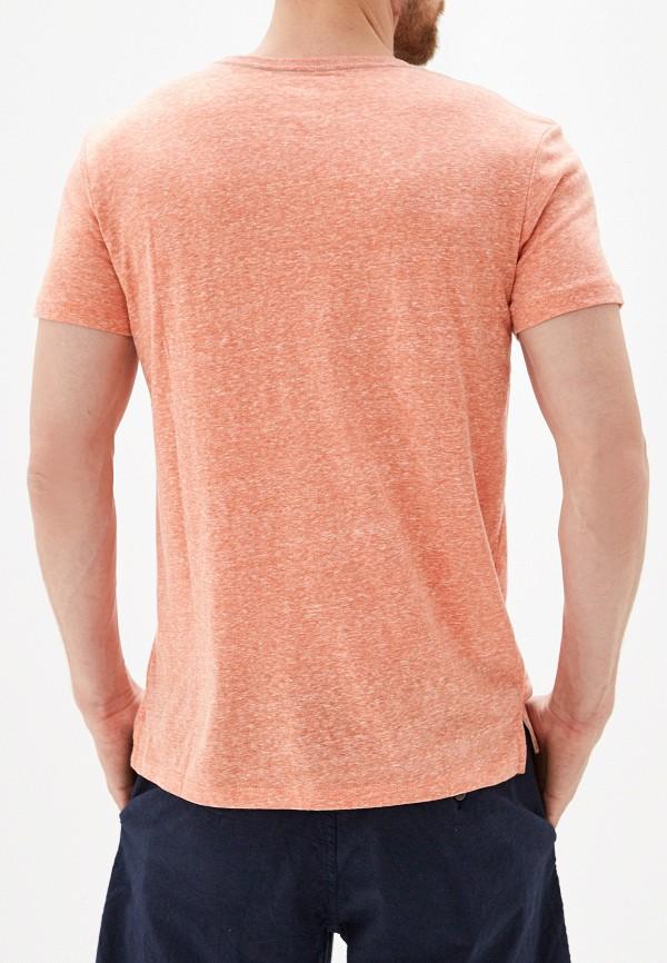 Фото 3 - мужскую футболку Quiksilver кораллового цвета