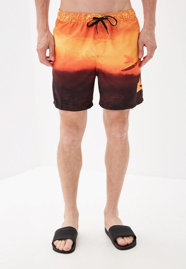 Фото - Шорты для плавания Quiksilver оранжевого цвета
