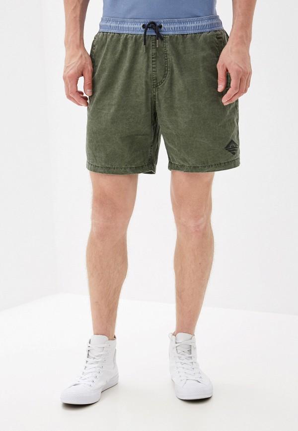 Фото - мужские шорты Quiksilver цвета хаки