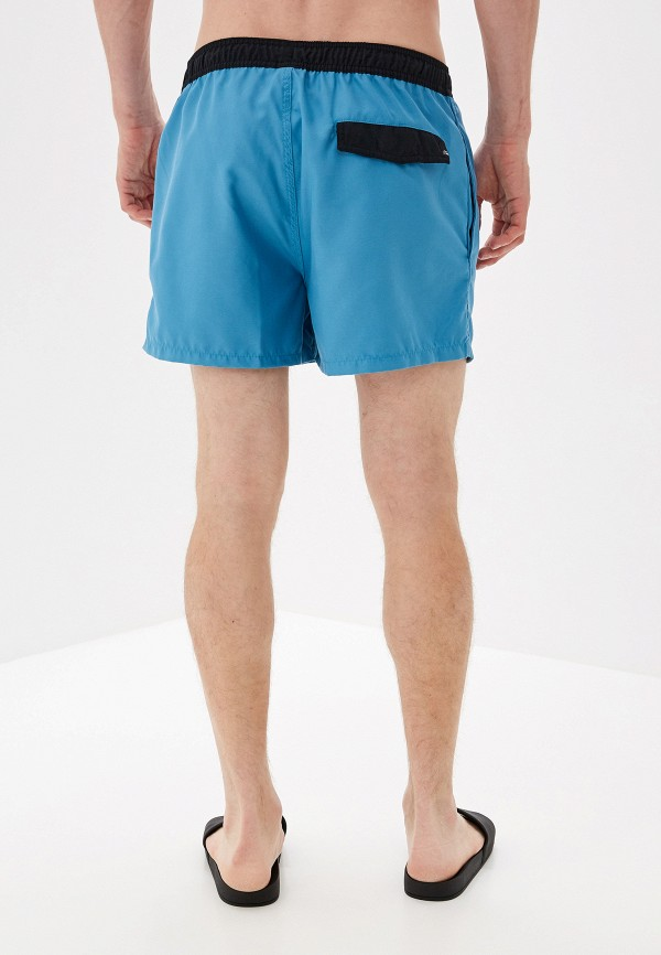 Фото 2 - Шорты для плавания Quiksilver голубого цвета