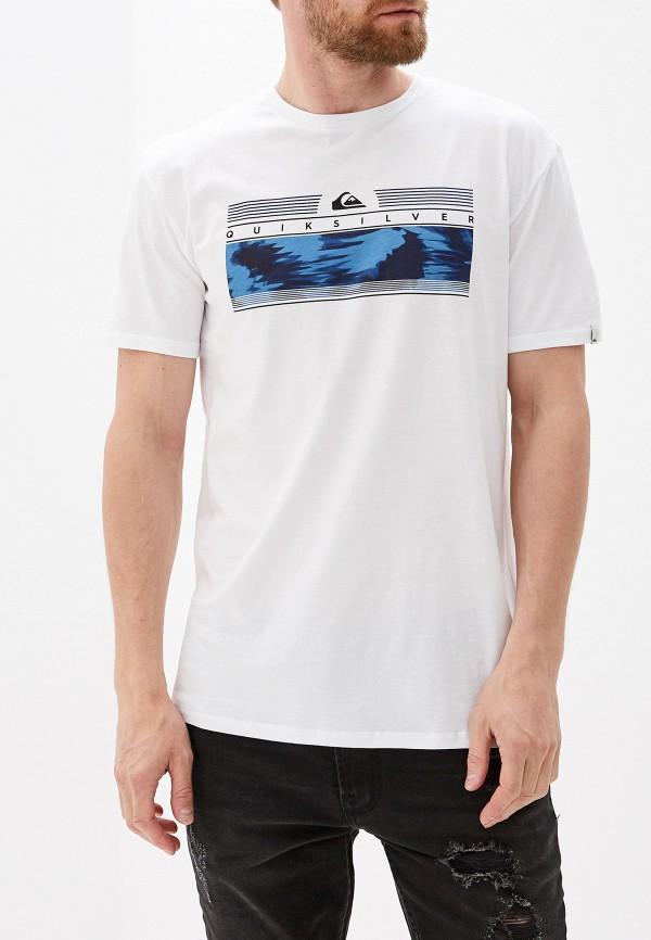 Футболка Quiksilver Quiksilver QU192EMGCJI7 футболка мужская quiksilver mandwsstee цвет белый eqyzt05262 wbb0 размер s 44