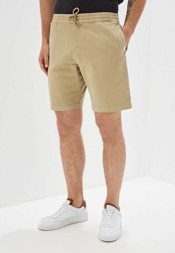 Фото - Мужские шорты Quiksilver бежевого цвета