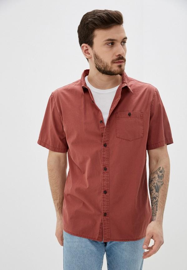 мужская рубашка quiksilver, красная