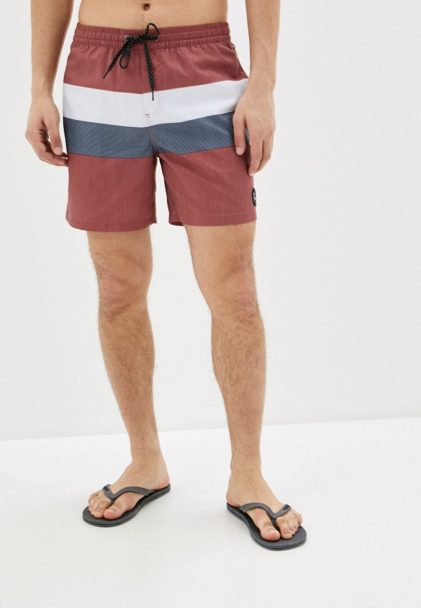 мужские спортивные шорты quiksilver, коричневые