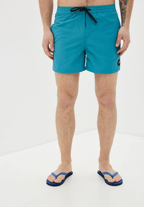 мужские спортивные шорты quiksilver, бирюзовые