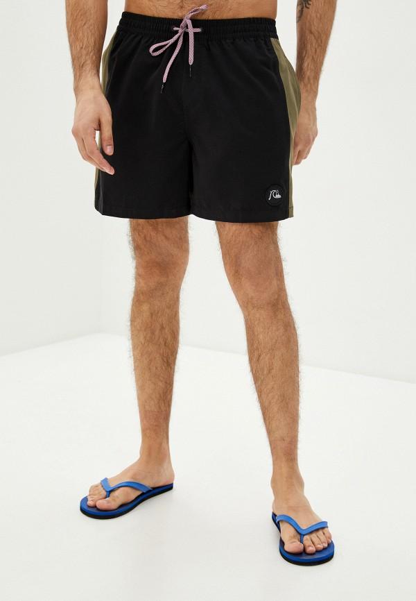мужские спортивные шорты quiksilver, черные