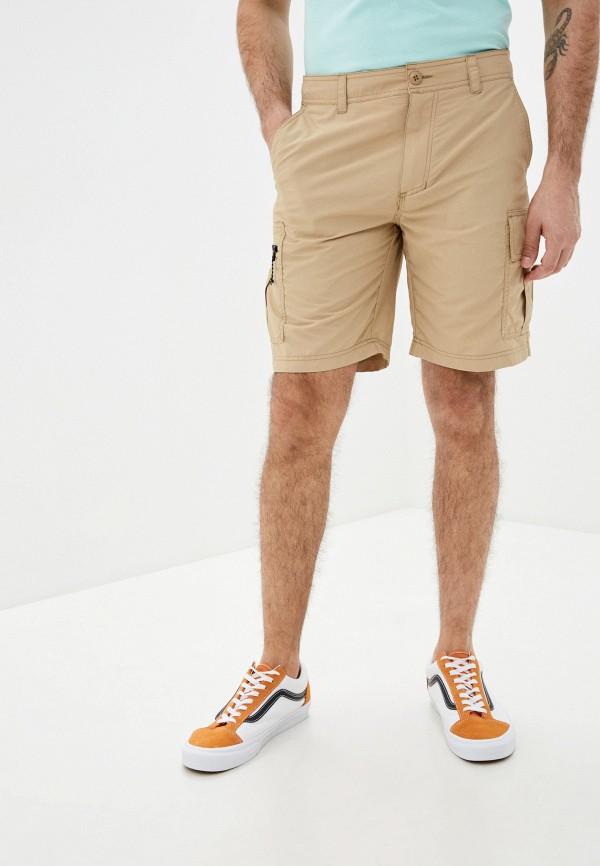 мужские шорты quiksilver, бежевые