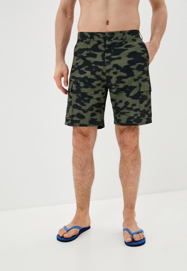 мужские спортивные шорты quiksilver, зеленые