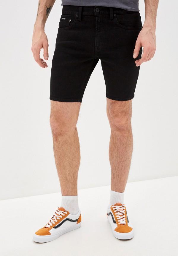 мужские шорты quiksilver, черные