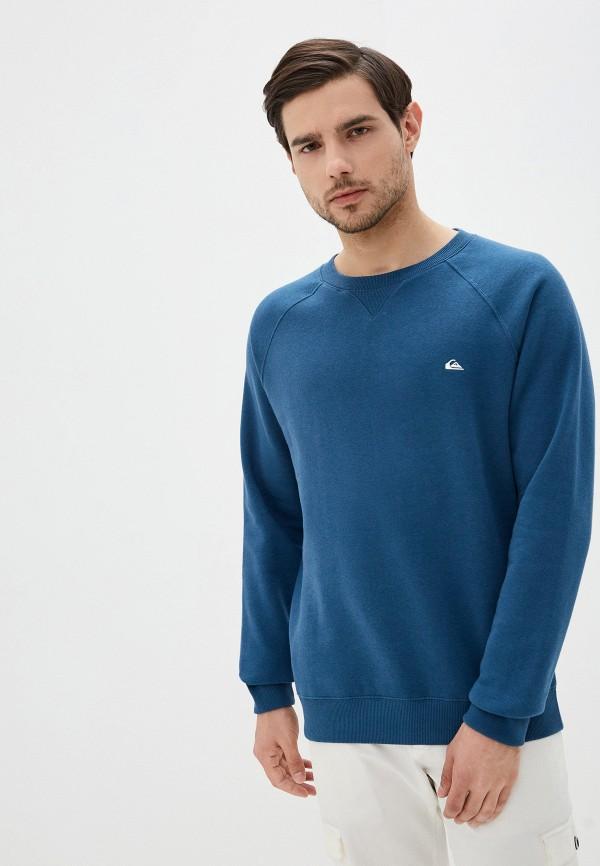 мужской свитшот quiksilver, синий