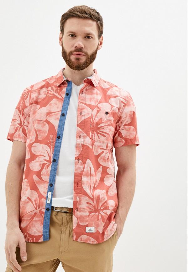 мужская рубашка с коротким рукавом quiksilver