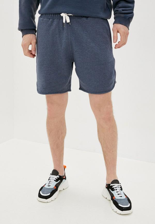 мужские повседневные шорты quiksilver, синие