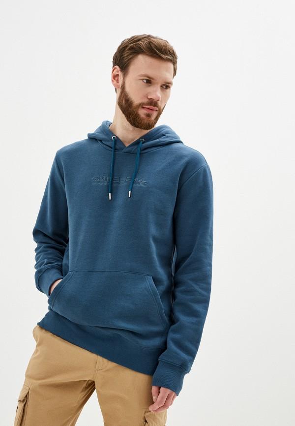 мужские худи quiksilver, синие
