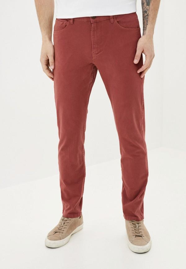 мужские брюки quiksilver, бордовые