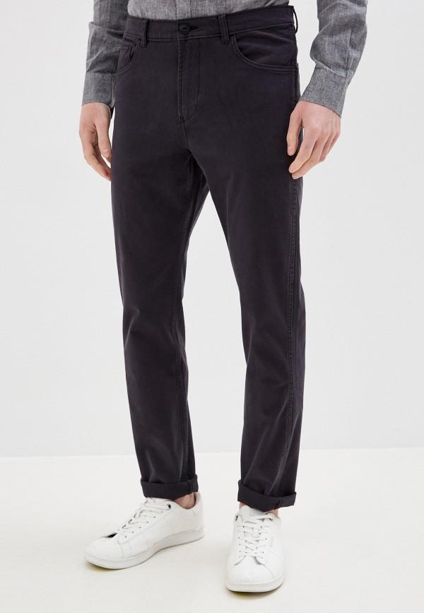 мужские прямые брюки quiksilver, черные