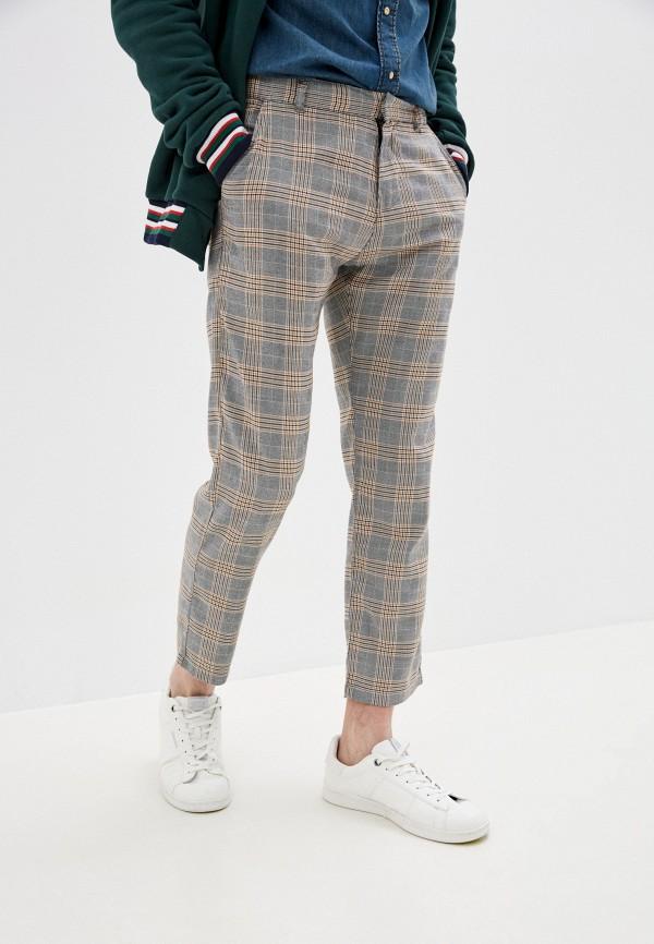 мужские повседневные брюки quiksilver, серые