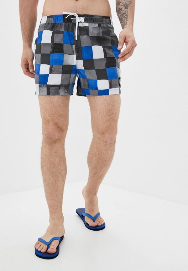 мужские спортивные шорты quiksilver, серые