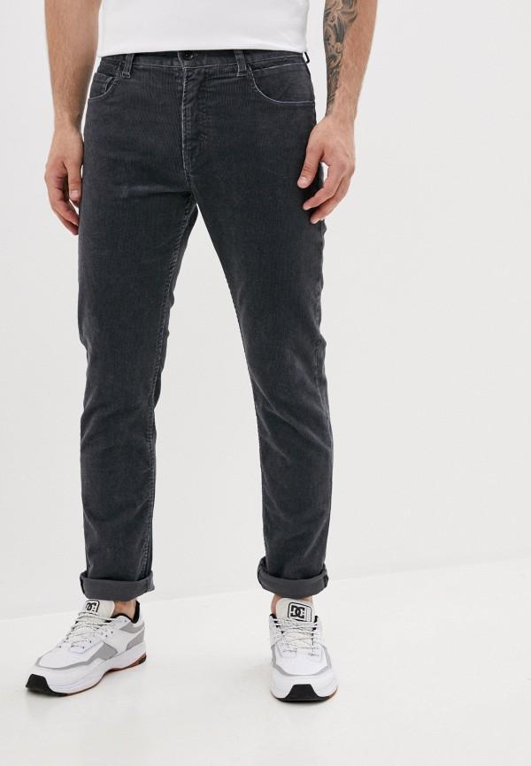 мужские брюки quiksilver, серые
