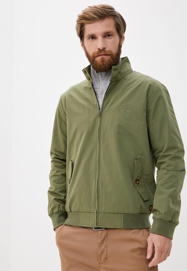 мужская куртка quiksilver, хаки