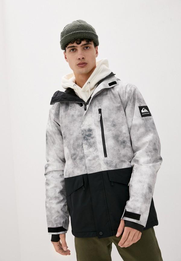 мужская горнолыжные куртка quiksilver, серая
