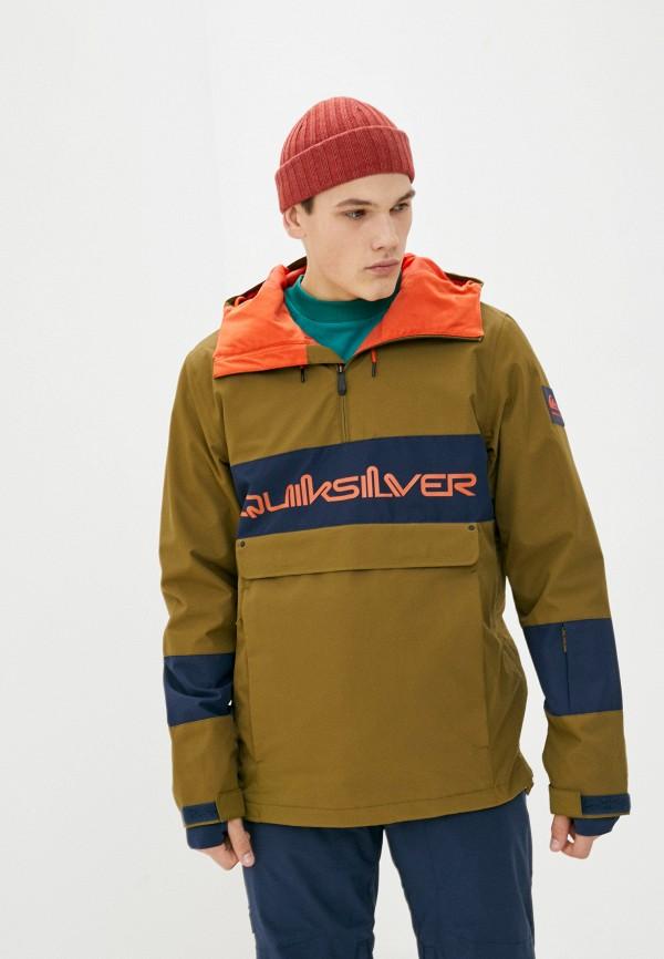 мужская горнолыжные куртка quiksilver, хаки