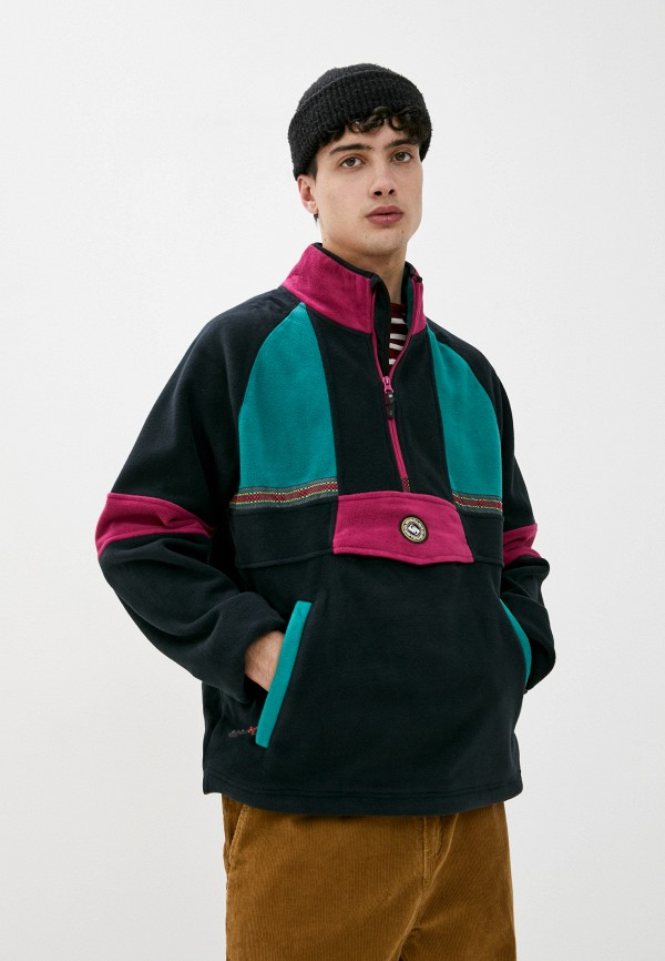 мужская олимпийка quiksilver, разноцветная