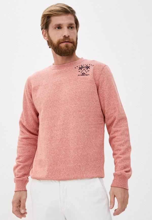 мужской свитшот quiksilver, розовый