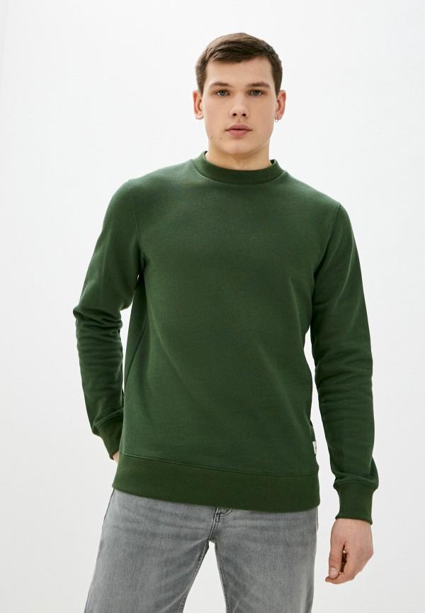 мужской свитшот quiksilver, зеленый