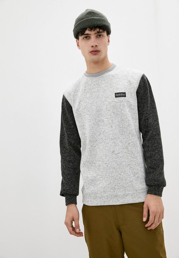 мужской спортивные свитшот quiksilver, серый