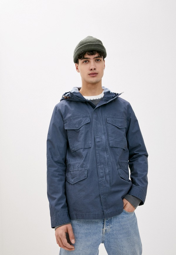 мужская спортивные куртка quiksilver, синяя