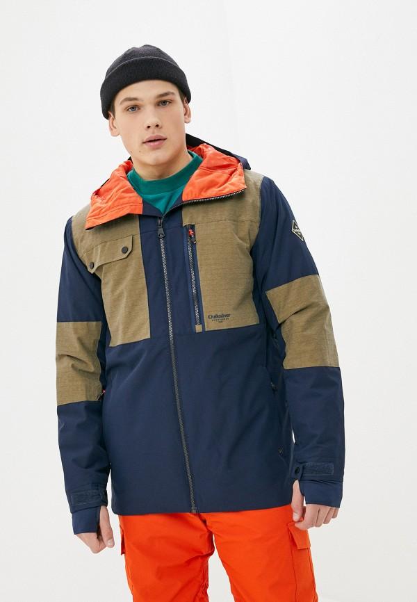 мужская горнолыжные куртка quiksilver, синяя