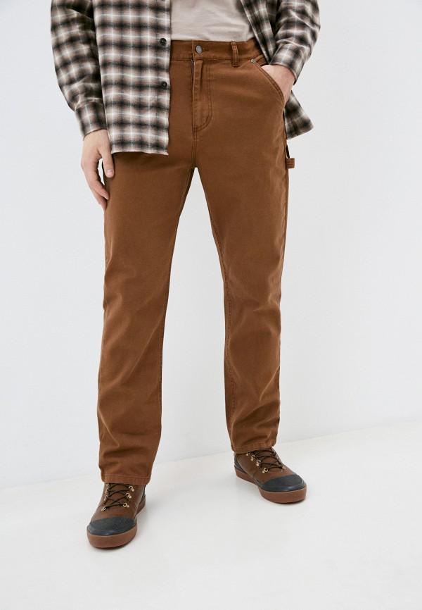 мужские повседневные брюки quiksilver, коричневые