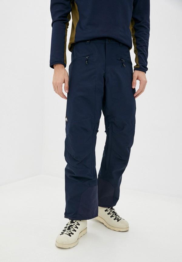 мужские брюки quiksilver, синие