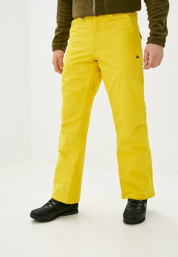 мужские брюки quiksilver, желтые