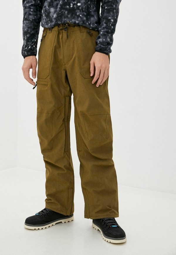 мужские брюки quiksilver, хаки