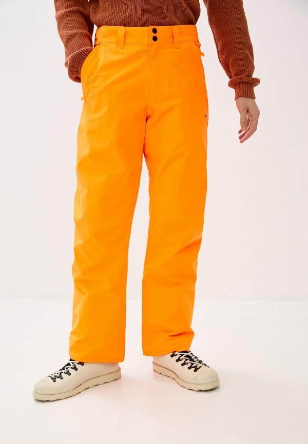 мужские брюки quiksilver, оранжевые