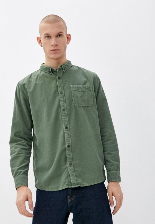 мужская рубашка с длинным рукавом quiksilver, хаки