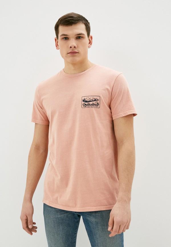 мужская футболка с коротким рукавом quiksilver