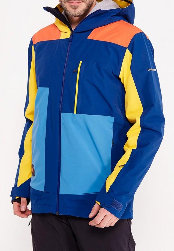 Фото - Куртку горнолыжная Quiksilver синего цвета