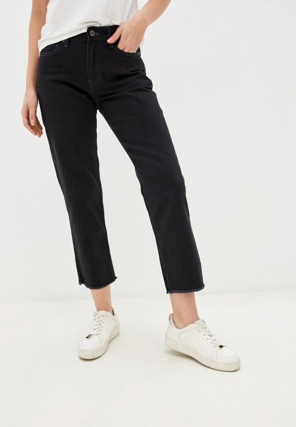 женские джинсы quiksilver, черные
