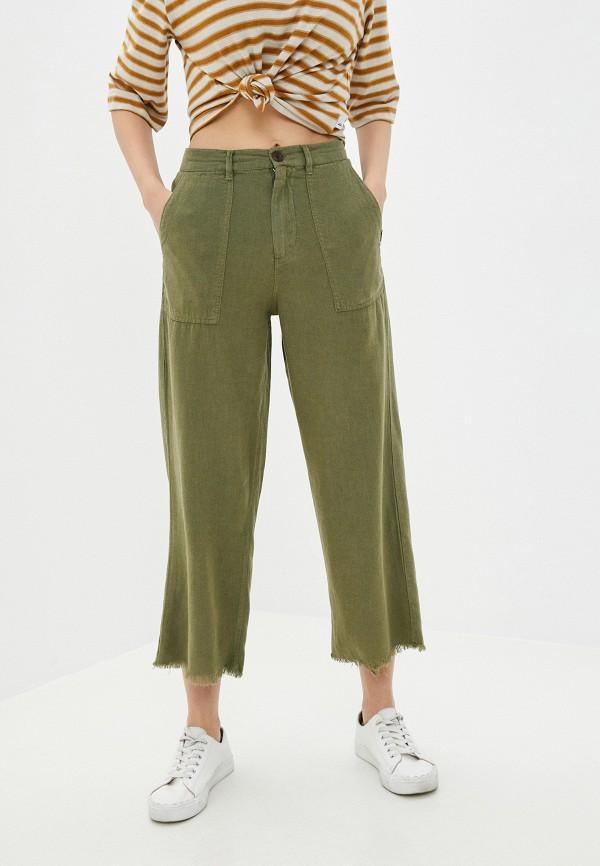женские брюки quiksilver, хаки