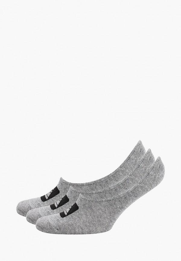 мужские носки quiksilver, серые