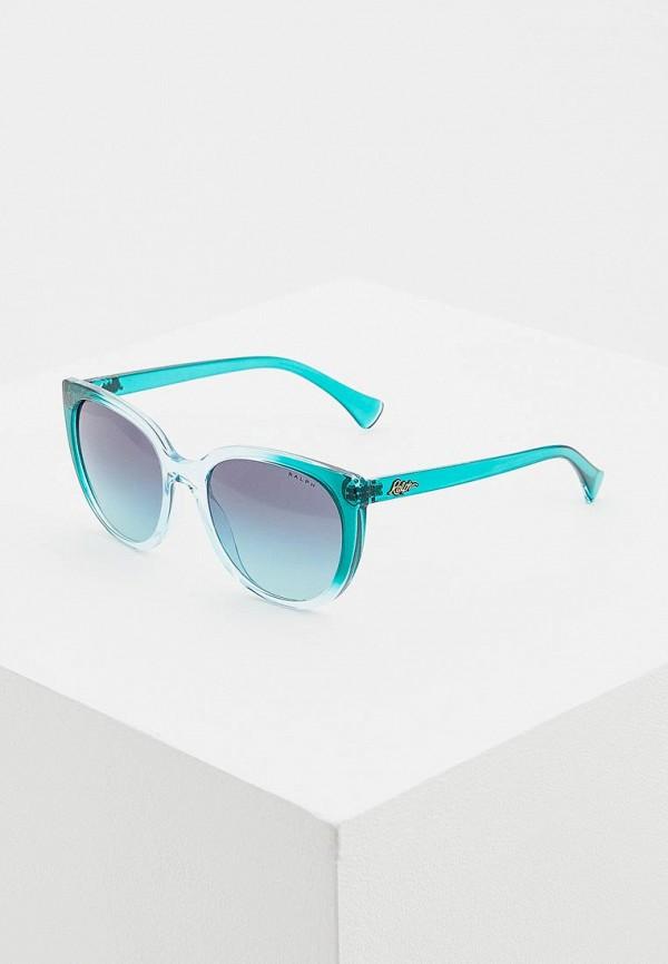 Купить Очки солнцезащитные Ralph Ralph Lauren голубого цвета