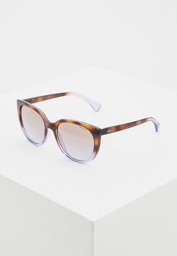 Купить Очки солнцезащитные Ralph Ralph Lauren коричневого цвета