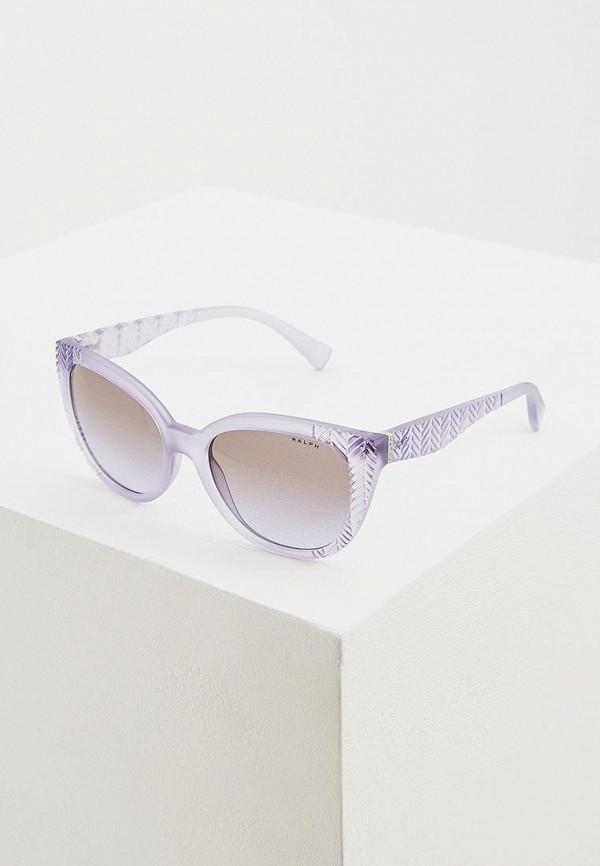 Купить Очки солнцезащитные Ralph Ralph Lauren, RA5253 57464Q, ra002dwenau6, фиолетовый, Весна-лето 2019