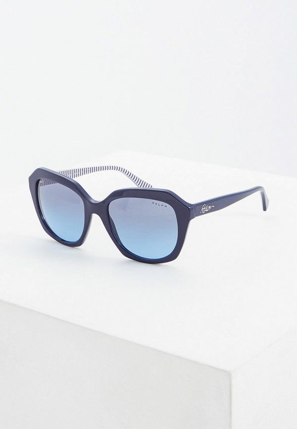 Фото - Очки солнцезащитные Ralph Ralph Lauren синего цвета