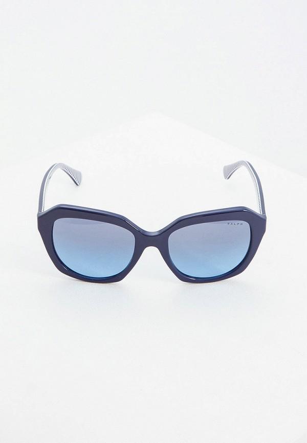 Фото 2 - Очки солнцезащитные Ralph Ralph Lauren синего цвета