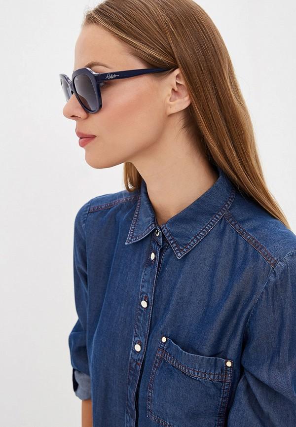 Фото 6 - Очки солнцезащитные Ralph Ralph Lauren синего цвета