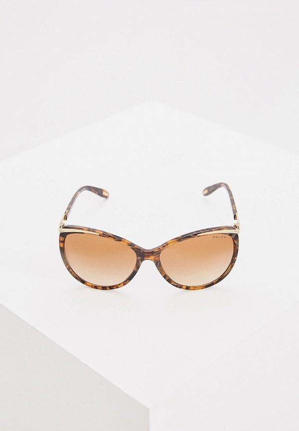 Фото 2 - Очки солнцезащитные Ralph Ralph Lauren коричневого цвета
