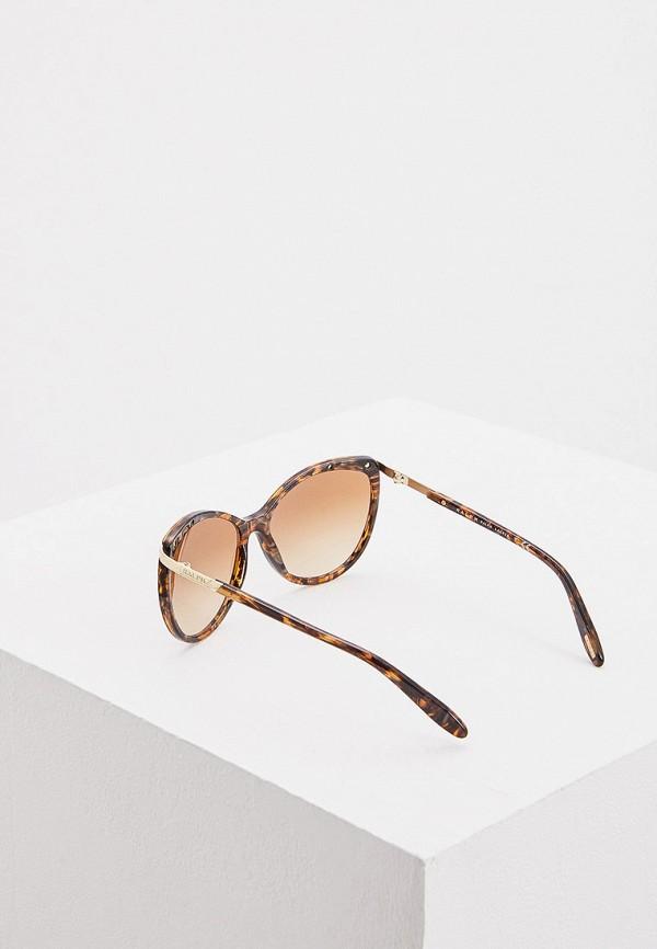 Фото 3 - Очки солнцезащитные Ralph Ralph Lauren коричневого цвета